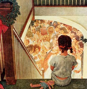 Image result for norman rockwell lonely
